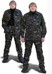 Camouflaged suits