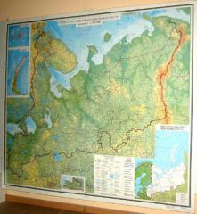 Карты настенные
