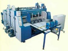 Line printing and die-cutting DVL-1800