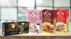 Кондитерское сырьё, халва, чай