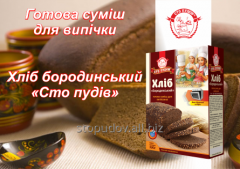 Mix for pastries Bread of the Borodino 500 g