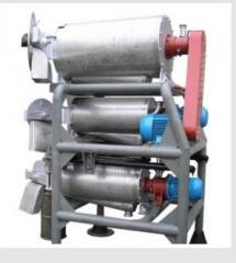 Pulper AS-200 triplex of JEDINSTVO firm