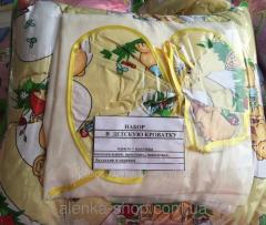 Набор в детскую кроватку в 4 цветах, код товара
