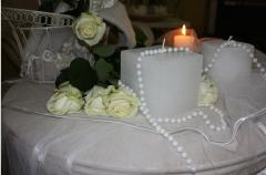 Candles wedding Candy Ligh