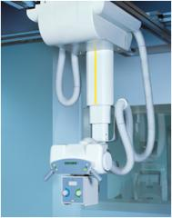 Ceiling support of LEM Plus. Ceiling X-ray