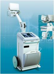 Мобильный рентгеновский аппарат Visitor T30DR. Цифровой рентгенографический комплекс. Аппарат рентген медицинский диагностический