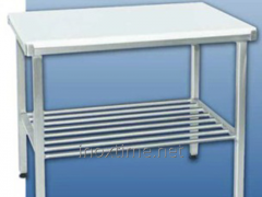 Table obvalochny with a table-top from polyamide
