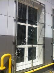 Решетки на окна из нержавеющей стали