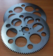 Gear wheels according to drawings or the
