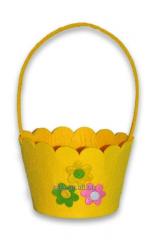 Easter goods basket from fel