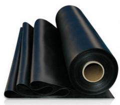Technical plates are acidproof, Rubber products