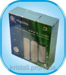 Set of replaceable cartridges of Aquafilter FP3 K1