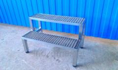Steps scaffolding, racks technological