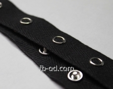 Tape decor of IU 071 x / black and button nickname