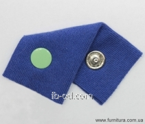 The button knitted CTX D-9,5mm with enamel the