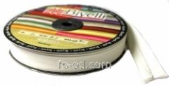 Bias binding (rulochka) 2cm creamy, product code