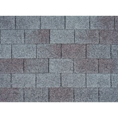 Bituminous tile of IKO Armourglass of 1000*336 mm