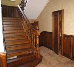 Massive wooden ladders