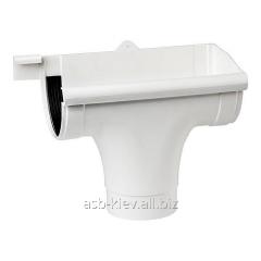 Воронка правая Profil 90/75 мм графитовая