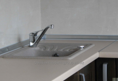 The table-top is plastic moisture resistan