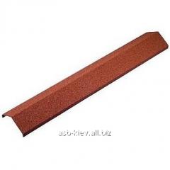 Конек ребровый Metrotile AR130 1365 мм красный