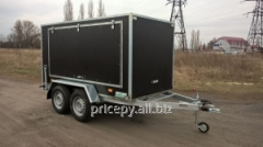 The trailer the Van 3,0*1,5*1,5 with brakes and a