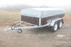 Two-axis trailer 3,02х1,54