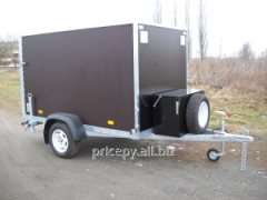 The trailer the Van 2,5*1,5*1,5 for transportation