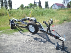 The boat Finval 470 - 500 trailer under the order