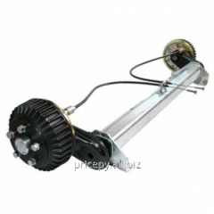 Axis the torsion with a brake of 1500 kg. A-1550,