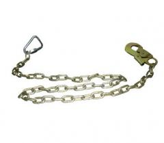 Sling chain with two carabiners