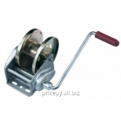 The Compact winch with a brake, loading of 900 kg,