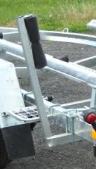 Боковая направляющая регулируемая с роликом 300 мм