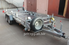 The trailer 5,6 x 1,74 for transportation of 2