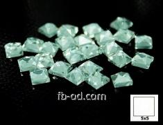 Stones pastes glue 5х5 blue-upak 100 pieces