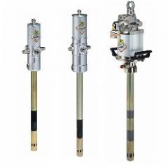 Barrel pumps for greasing