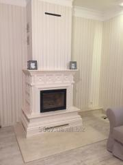 Tiles, tile fireplaces