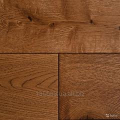 Board from an oak cut under the order