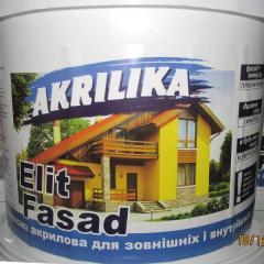 АКРИЛОВАЯ КРАСКА Elit Fasad(14 кг)