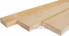 Boards oak cut for a floor