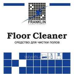 Means for cleaning of floors of FLOOR CLEANER