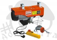 Wyciągarki elektryczne