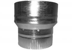 The adapter from galvanized was thrown by 140/115