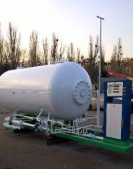 Модуль газовый пропан-бутан (станция LPG) АГЗП