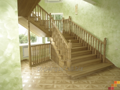 Ladders from a tree for a country house, the