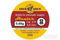 Bullets for pneumatics the Hornet of 0,68 g.