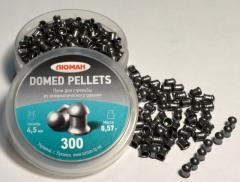 Bullets for pneumatics Lyuman round-headed 0,57g