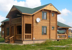 Дом деревянный 0025