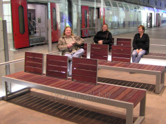 Benches, benches under the order