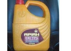 ARIANS of Ultragaz, engine oils. Universal engine
